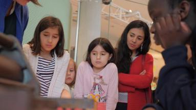 Family Playdates im Museum für Kommunikation
