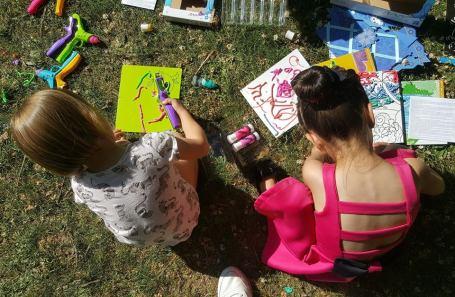 Family Playdates – Malen verbindet