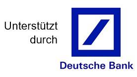Logo unterstützt durch Deutsche Bank