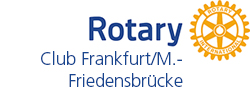 Logo Rotary Club Frankfurt/Main International Friedensbrücke